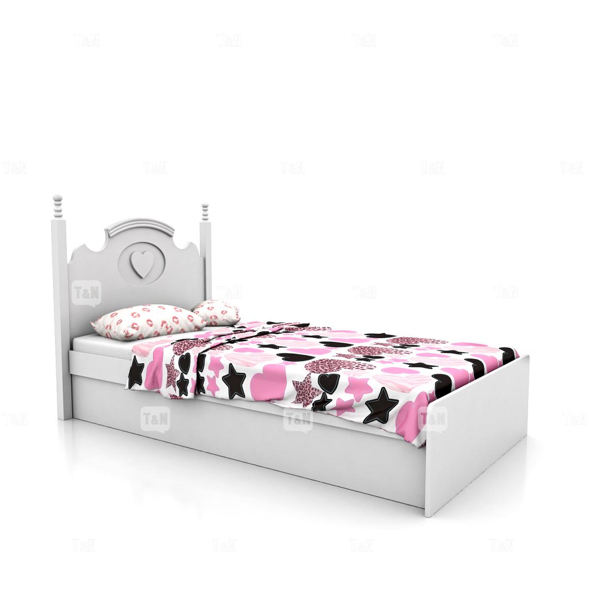 Кровать с с ящиком и подъемным механизмом , 90 см. (Фабрика TOMY NIKI )