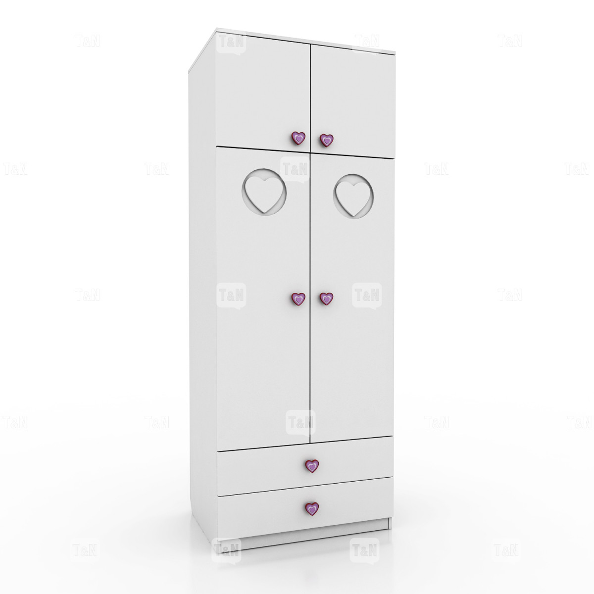 Шкаф-антресоль 2-х дверный (Фабрика TOMY NIKI )