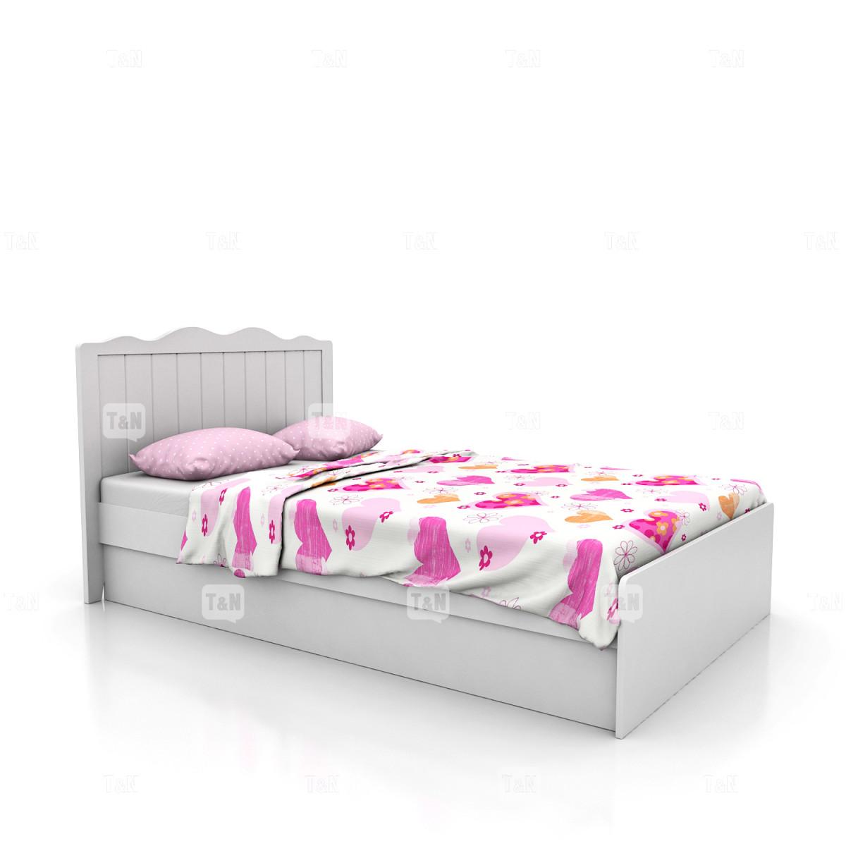 Кровать без ящиков ( 90 см.),  (Фабрика TOMY NIKI )