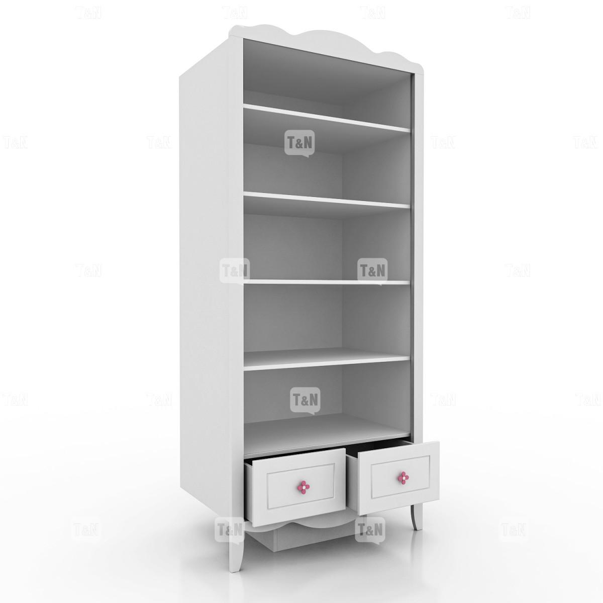 Шкаф двухдверный с полками (Фабрика TOMY NIKI )