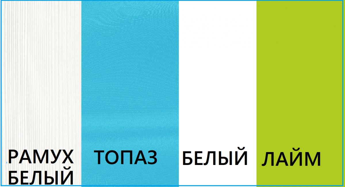 """""""ТВИСТ ОЛЛИ"""" Кровать верхняя с ограждением (38 Попугаев)."""