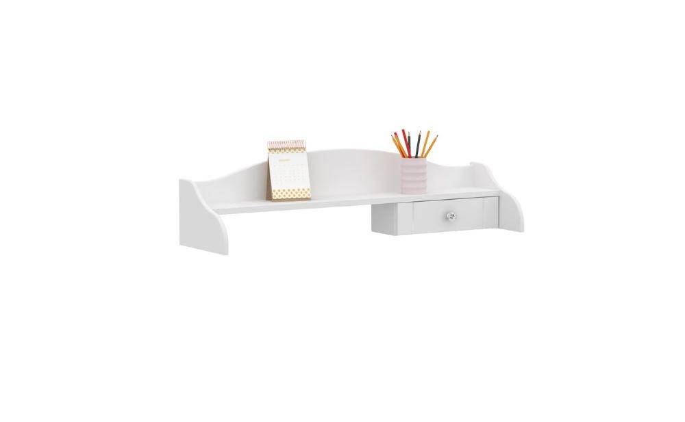 """""""ROYAL WHITE"""" Надстройка для письменного стола (Meblik)"""