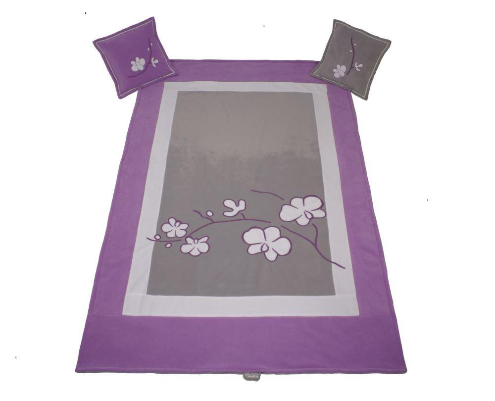 """""""ORCHIDEA"""" Комплект : покрывало и подушки (Meblik)"""