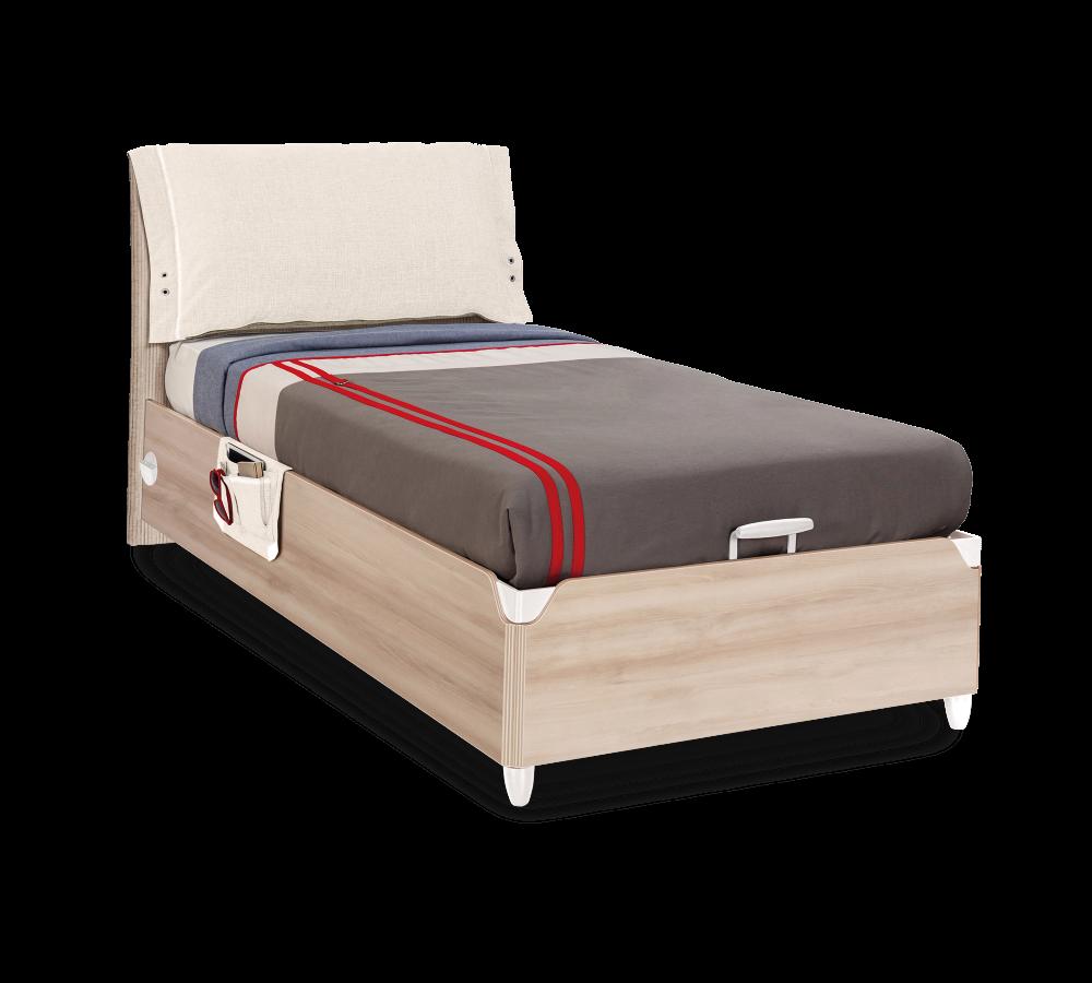"""""""DUO"""" Кровать с подъёмным механизмом 100х200 (Cilek)"""
