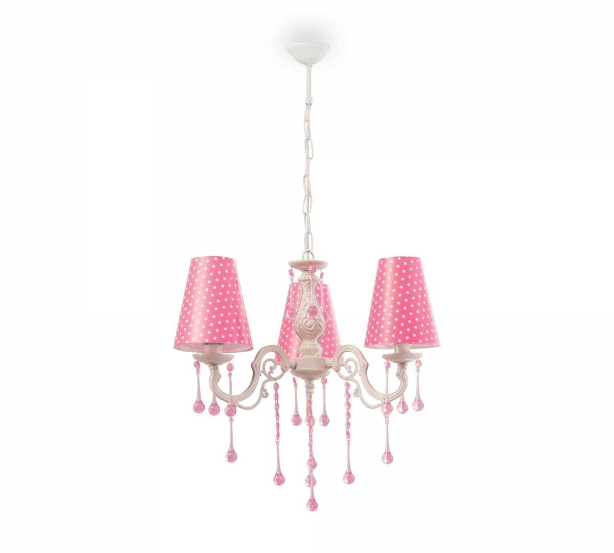 """YAKUT"" ЛЮСТРА Dotty Ceiling Lamp (Pink) (Cilek)"