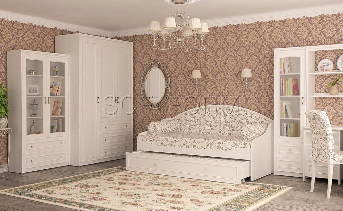 """""""СТРЕКОЗА"""" Кровать - тахта с дополнительным спальным местом 90х200 (Softform)."""