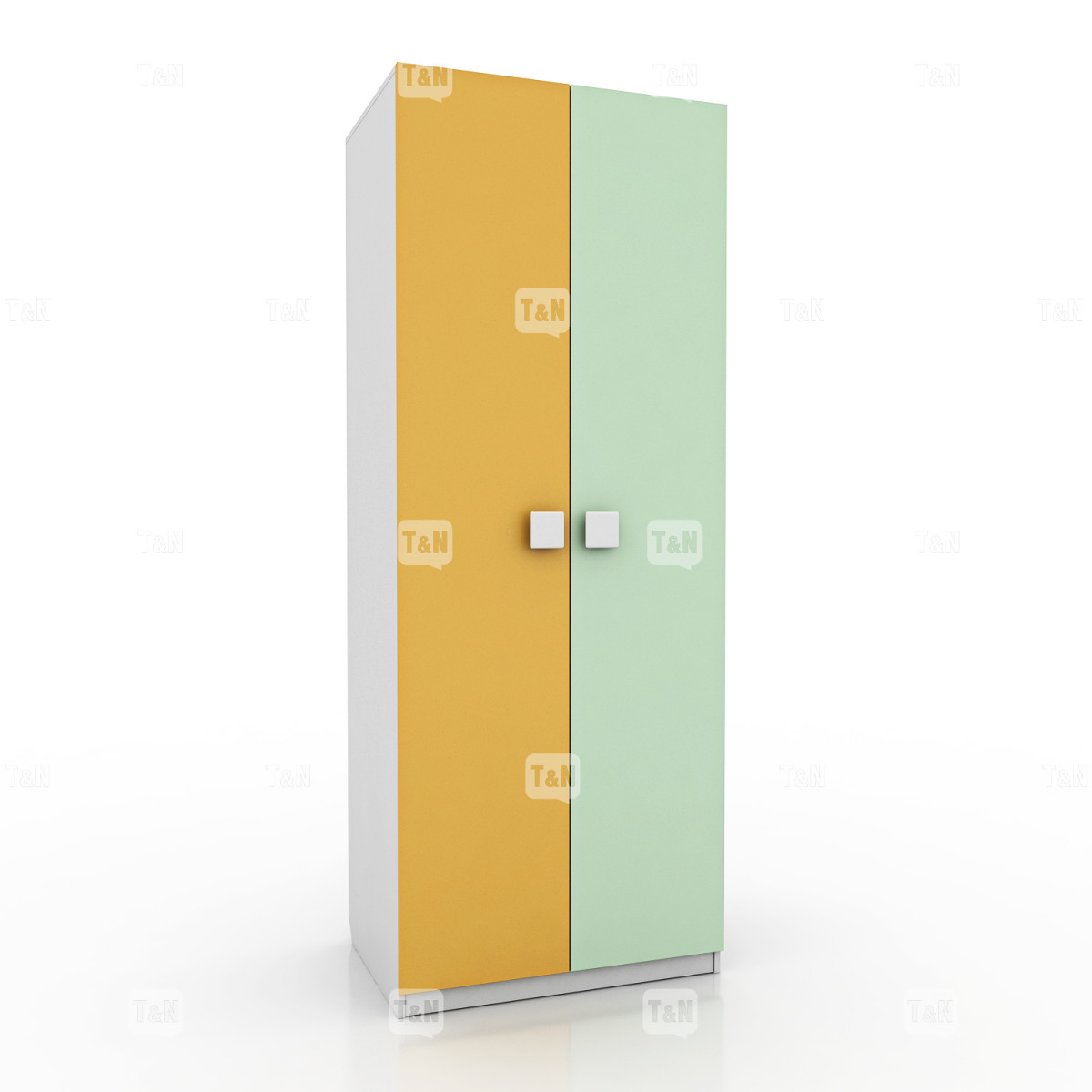 Шкаф 2-х дверный с 7мью полками (Фабрика TOMY NIKI )