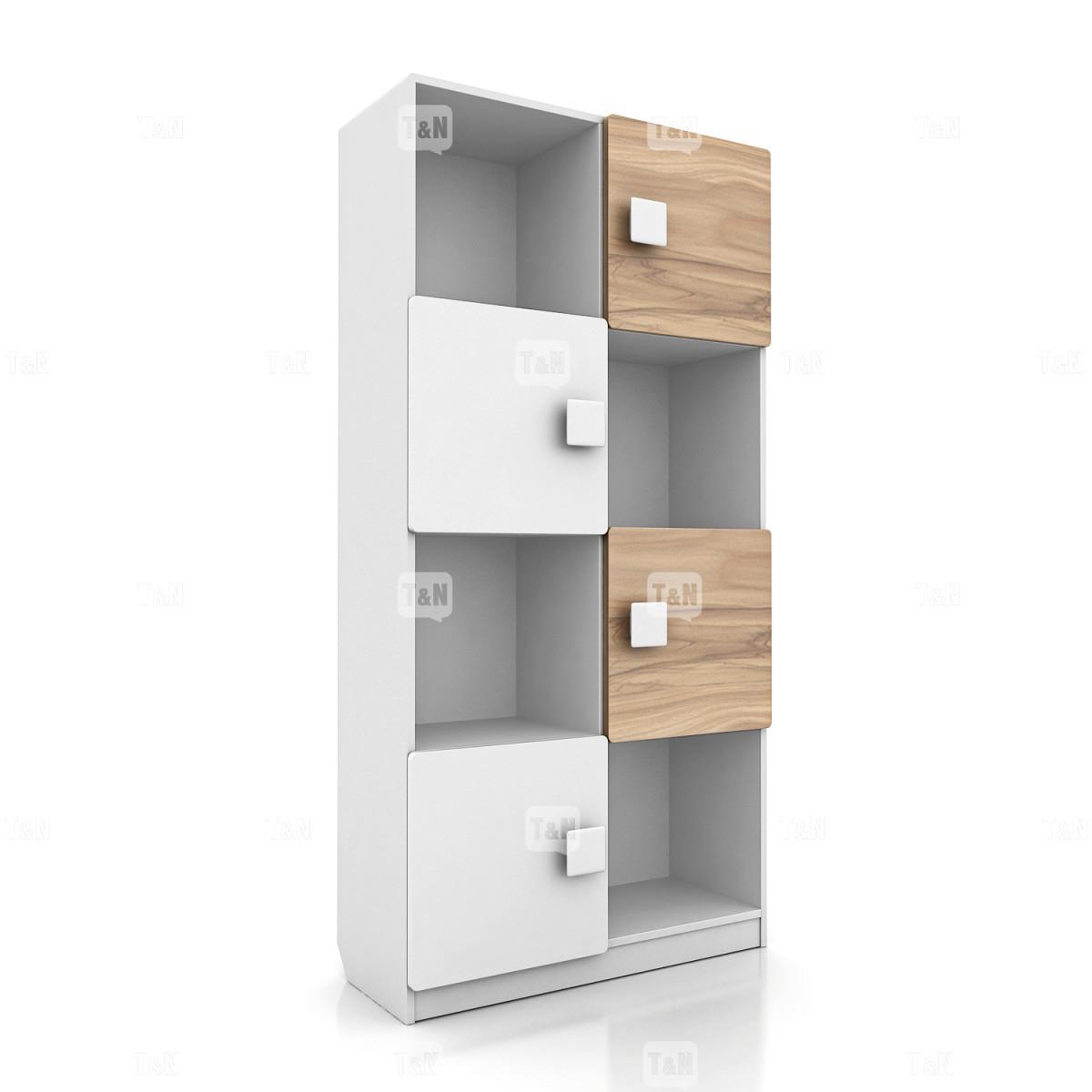 Шкаф книжный с 8-ю секциями (Фабрика TOMY NIKI )