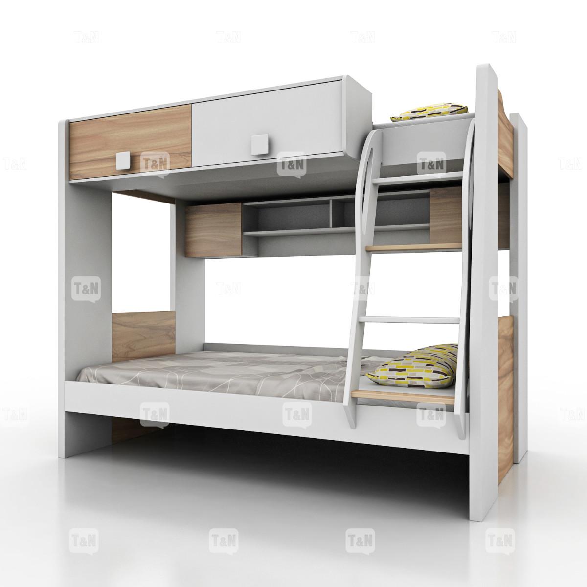 Кровать двухъярусная (Фабрика TOMY NIKI ) 90х120 см.