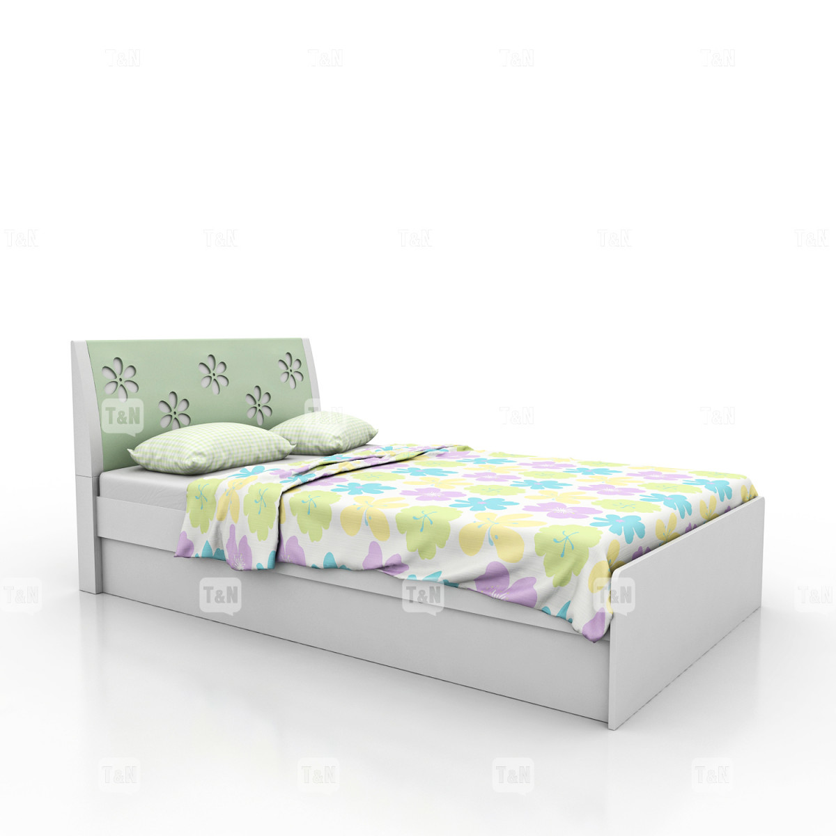 Кровать без ящиков (Фабрика TOMY NIKI ) 90 см