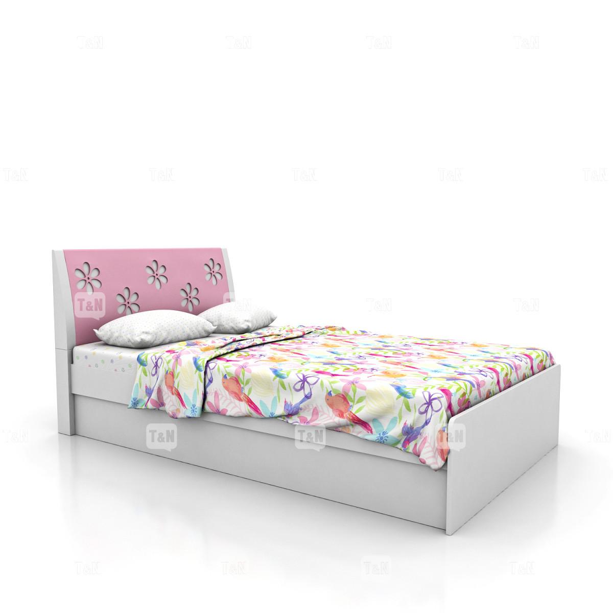 Кровать без ящиков (Фабрика TOMY NIKI ) 120 см.