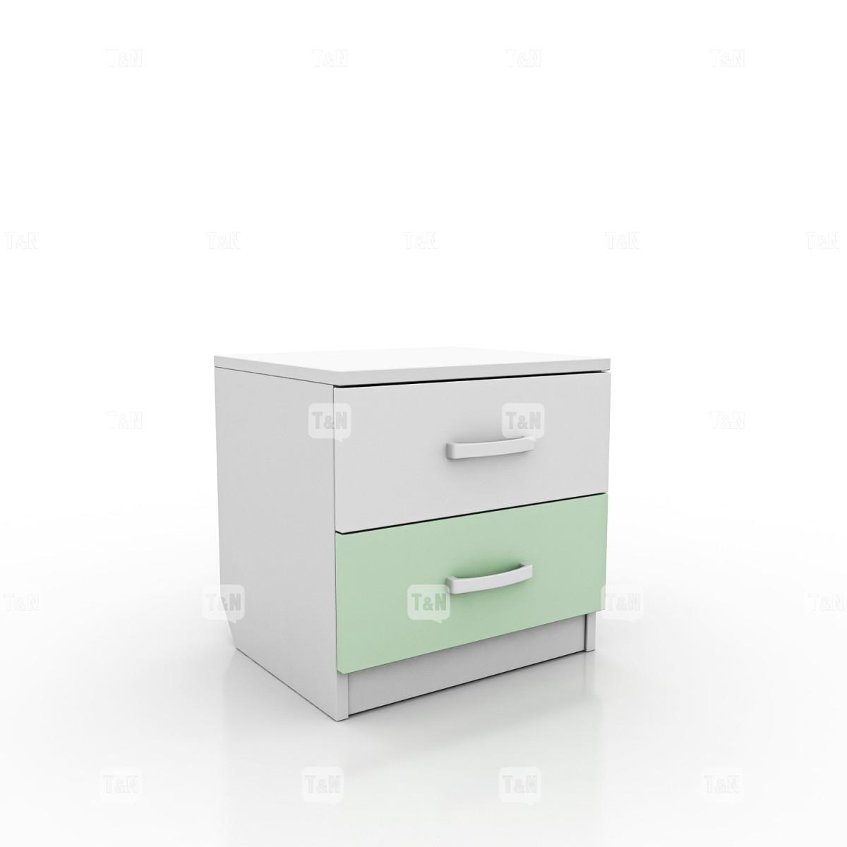 Тумбочка прикроватная с двумя ящиками (Фабрика TOMY NIKI )