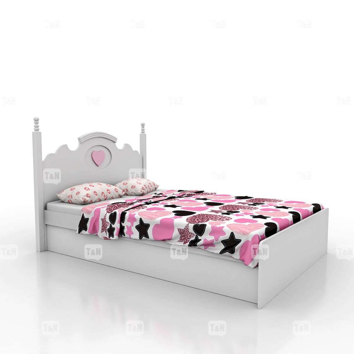 """Кровать с с ящиком и подъемным механизмом """", 120 см. (Фабрика TOMY NIKI )"""