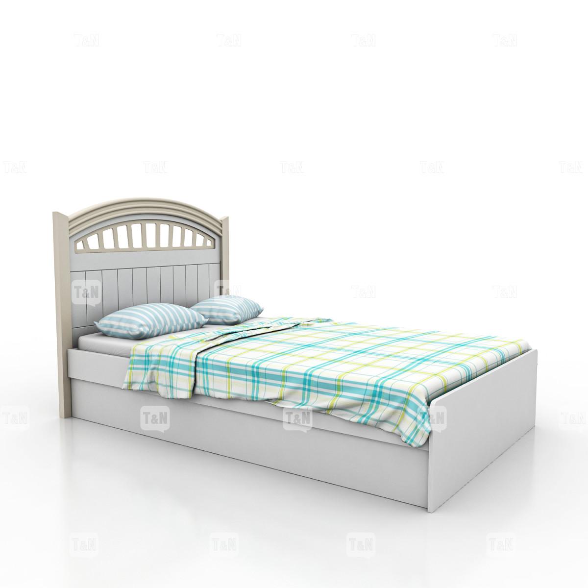 Кровать без ящиков , (90 см.) (Фабрика TOMY NIKI)