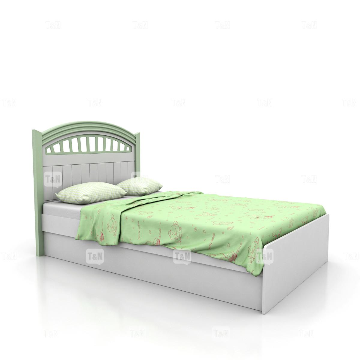 Кровать с с ящиком и подъемным механизмом, (120 см.)(Фабрика TOMY NIKI )
