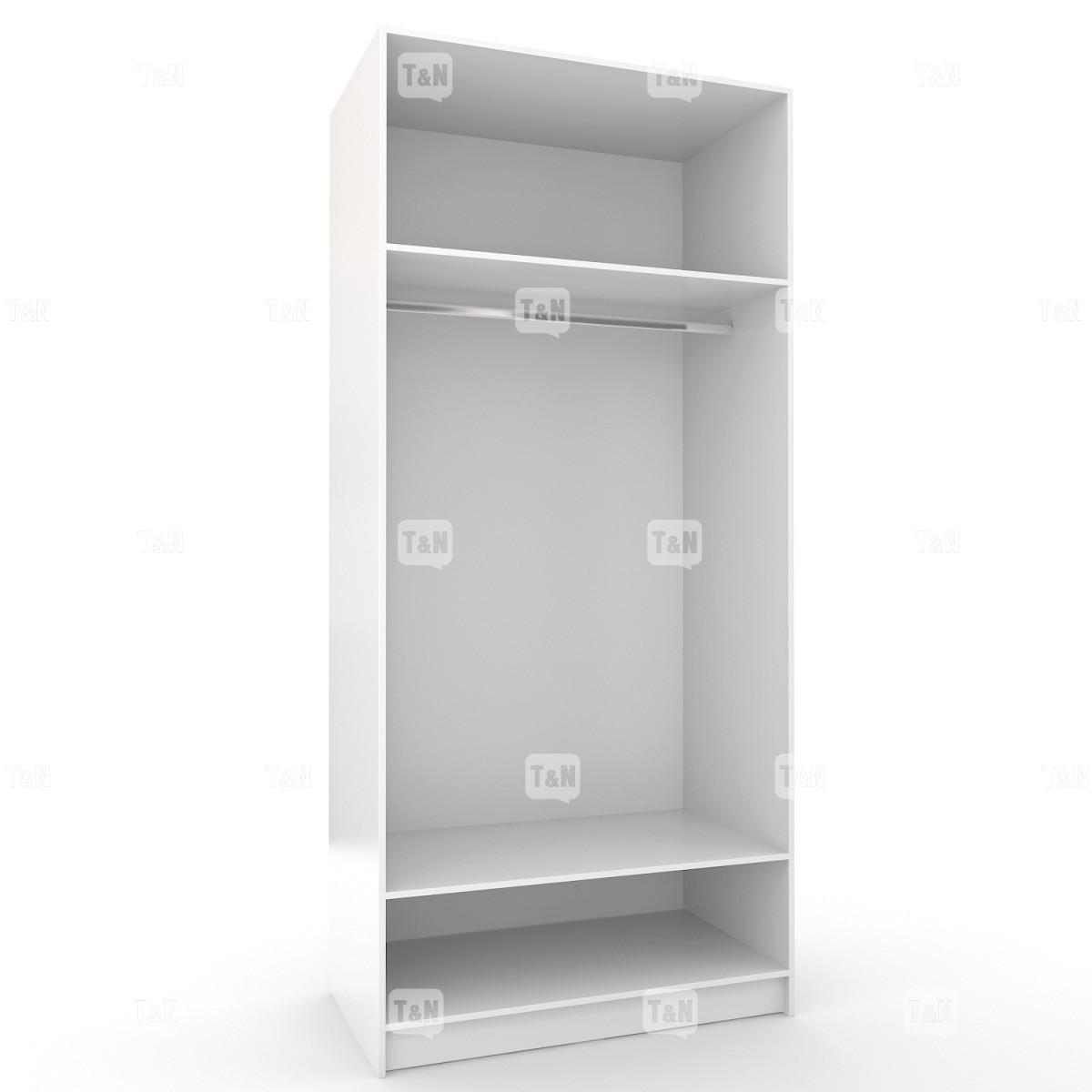 Шкаф двухдверный с двумя полками (Фабрика TOMY NIKI )
