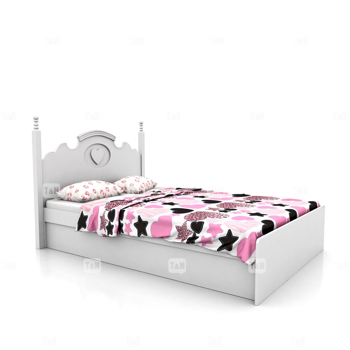 Кровать без ящиков, 120 см (Фабрика TOMY NIKI )