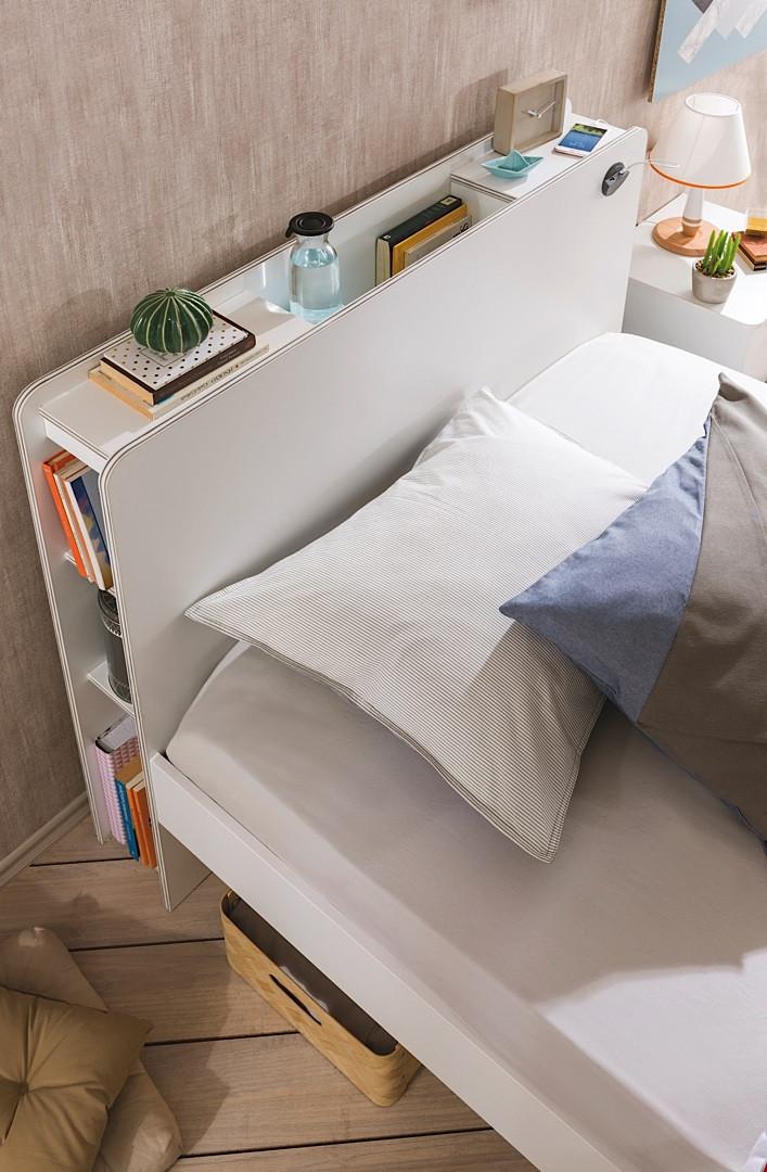 """""""WHITE"""" Кровать с подъемным механизмом (Cilek)"""
