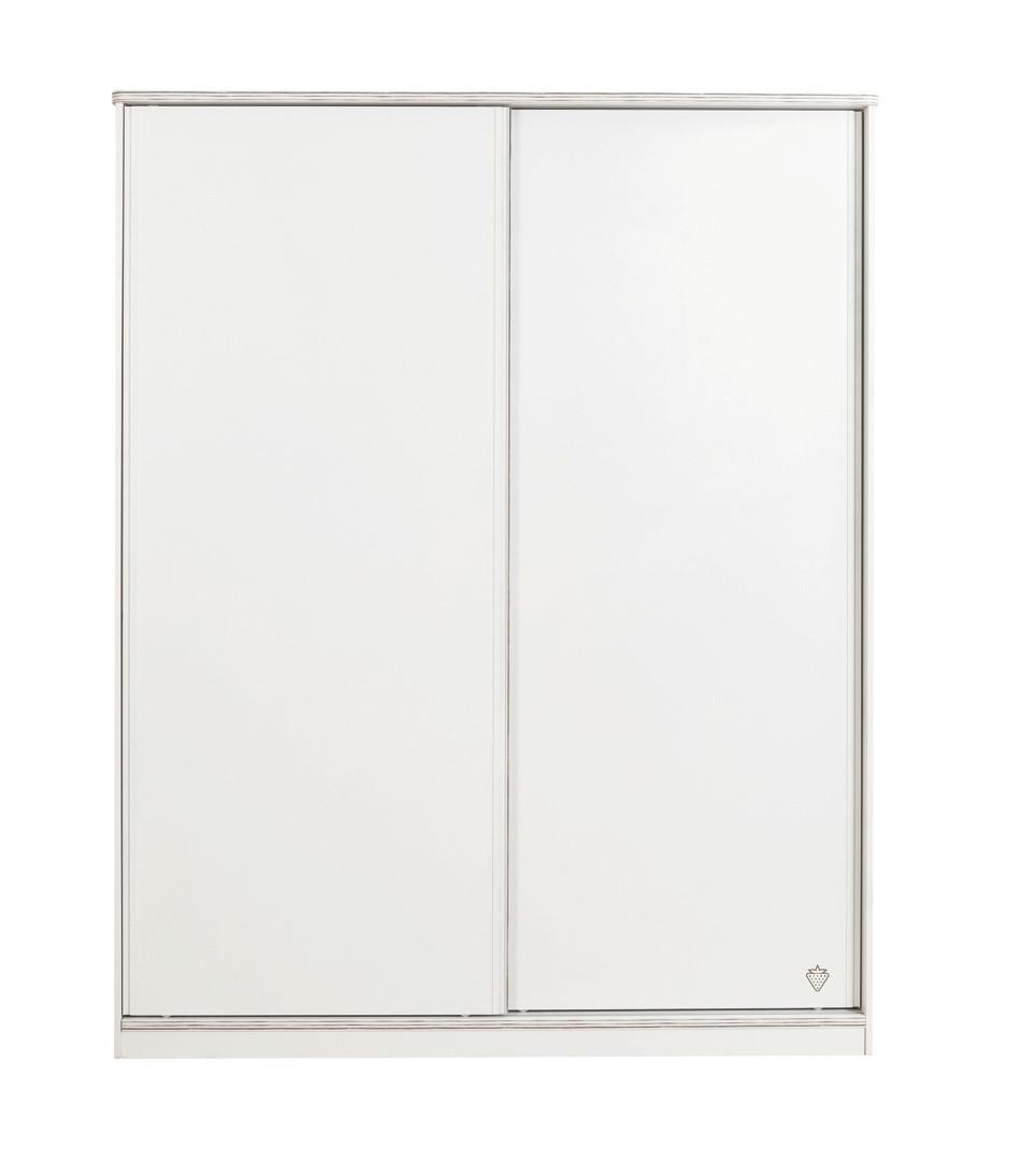 """WHITE"" Шкаф с раздвижными дверями (Cilek)"