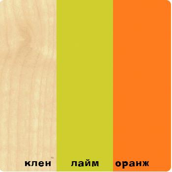 """""""ВЫШЕ РАДУГИ"""" Кровать нижняя (38 Попугаев). 80х170"""