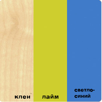 """""""ВЫШЕ РАДУГИ"""" Шкаф - пенал (38 Попугаев)."""