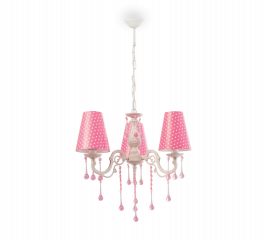 """YAKUT"" ЛЮСТРА Dotty Ceiling Lamp (Pink) (Cilek)"